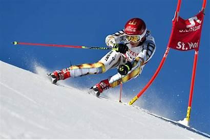 Skiing Ledecka Ester Snowboarding Olympics Ski Sports