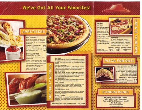 cuisine pizza pizza hut on point of purchase coupon and