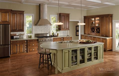 kitchen cabinets with light island merillat kitchen cabinets kitchen ideas kitchen islands 9539