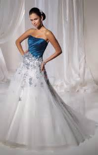 pale blue wedding dress blue and white wedding dresses a trusted wedding source by dyal net
