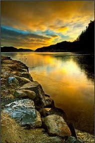 Norway Beautiful Sunrise