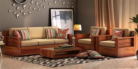 Buy Wooden Sofa Set Online In India Upto 55