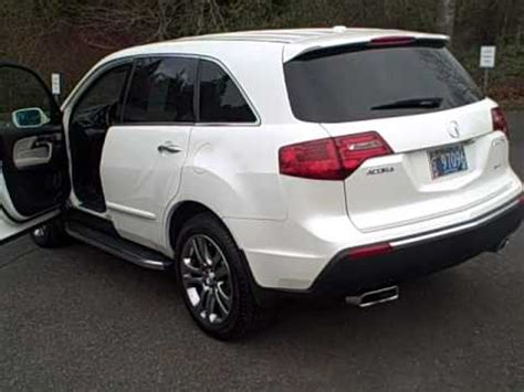 Acura Of Beaverton by 2010 Acura Mdx Advance Beaverton Oregon Portland Or