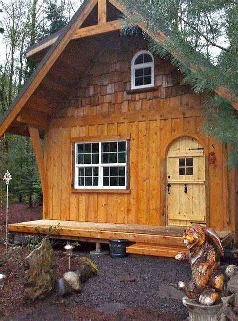breathtaking forest fringed wood cabins amazing diy