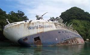 MS World Discoverer - Wikipedia  Wreck