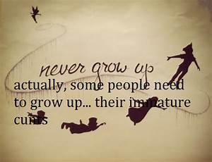 Quotes About Growing Up Peter Pan. QuotesGram