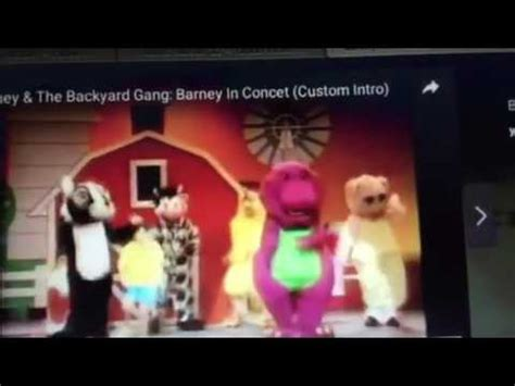 Barney And The Backyard Theme Song by Barney And The Backyard Theme Song 1963 1992 Custom