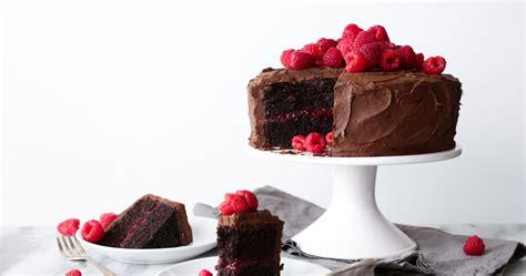 chocolate raspberry layer cake wife mama foodie