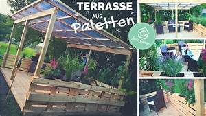 terrasse aus paletten selber bauen palettenmobel With terrasse selber bauen