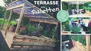 Terrasse aus paletten selber bauen palettenmobel for Terrasse selber bauen
