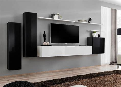201 tourdissant meuble tv suspendu blanc laqu 233 et meuble tv ensemble composition murale