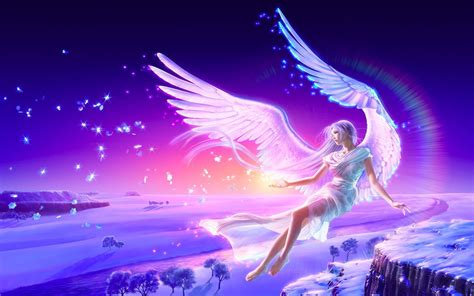 white angels fly high