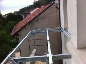 terrasse etanche sur structure en acier With terrasse en acier galvanise