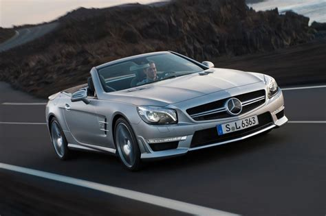 2018 Mercedes Benz Sl63 Amg Slims Down And Powers Up W