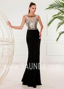 Baunda Vestido largo negro 2018 XM 4854 en Baunda Madrid y tienda online
