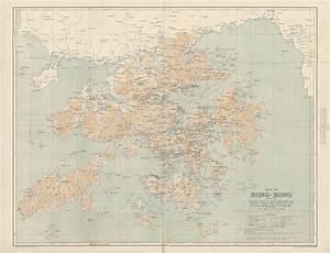 1909 Hong Kong - Majesty Maps & Prints