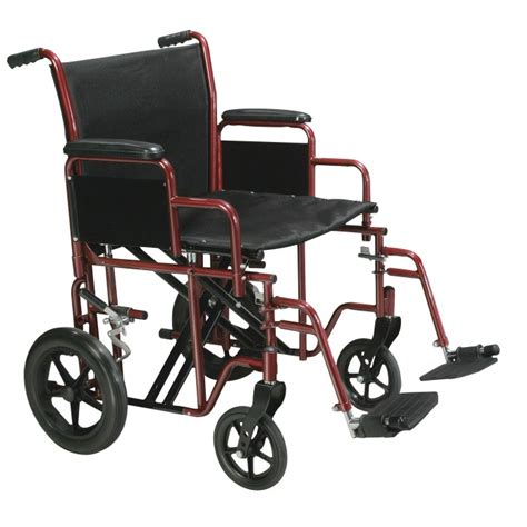 Bariatric Transport Chair Canada by Transport Wheelchair Bariatric Heavy Duty 20 Quot Or 22 Quot Wide