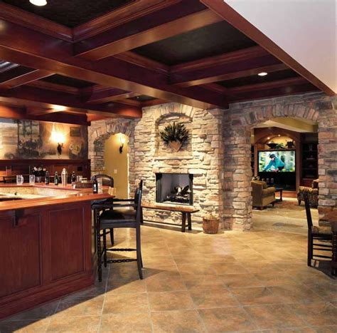 hearth room    home pictures basement fireplace home