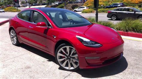 45+ Tesla 3 Test Ride Pics