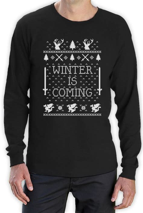 of thrones sweater winter is coming sweater sleeve t