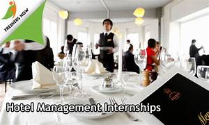 Hotel Management Internships 2019 For Freshers And