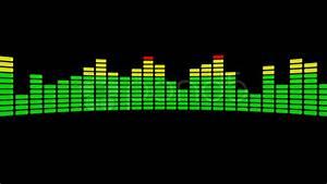 3d audio level equalizer ~ Hi Res Video #20602761