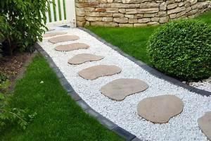 Gartenideen Mit Steinen : gartengestaltung mit steinen 10 wunderbare ideen ~ Indierocktalk.com Haus und Dekorationen