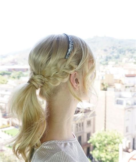 easy diy homecoming hairstyle cute girls hairstyles