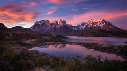 Patagonia Wallpapers Mountains America South Lake Andes