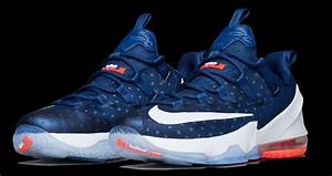 "New Detailed Images Of The Nike LeBron 13 Low ""USA ..."