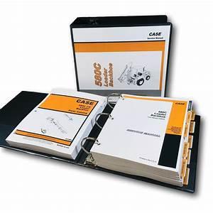 Case 580c Ck Loader Backhoe Service Parts Manuals Repair