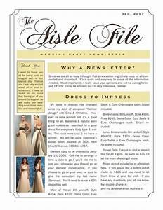 brides helping brides tm help bridesmaids newsletter With bridesmaid newsletter template