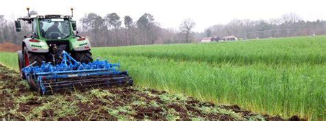 chambre d agriculture des landes penser à la mécanique des couverts végétaux