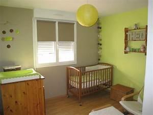 deco chambre bebe vert anis vert anis deco chambre bebe With couleur mur chambre enfant