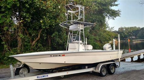 fishing inshore boats shallow boat water shore near console center foot panama skiff perfect bay max sea sight