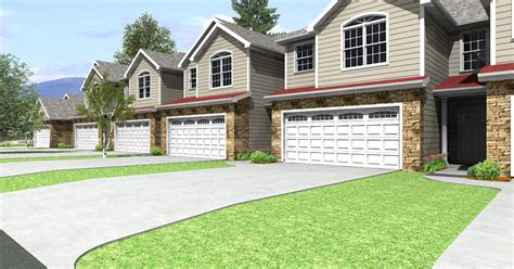 townhouses plans   house plans