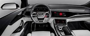 Audi Q8 Interieur : tecnologia audi q8 gli interni avranno un infotainment android motorbox ~ Medecine-chirurgie-esthetiques.com Avis de Voitures