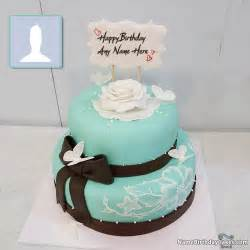 woman cake topper happy birthday cakes for with name and photo
