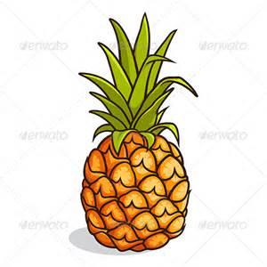 Pineapple Leaves Cartoon
