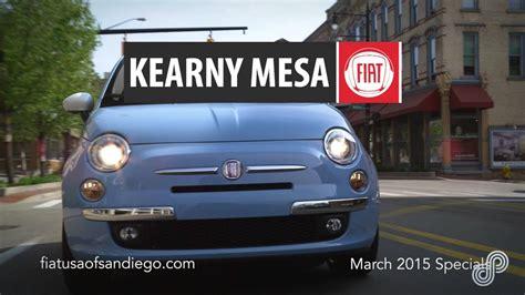 Kearny Mesa Fiat by 2015 Fiat 500e Lease Offer Kearny Mesa Fiat 3 15