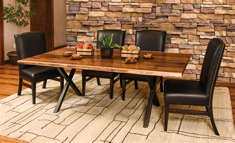 xavier trestle table amish direct furniture