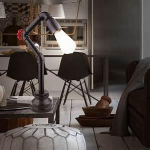 Lampenschirme Für Tischleuchten Vintage : vintage stil led tischleuchte f r ihren wohnraum bayuda ~ Bigdaddyawards.com Haus und Dekorationen