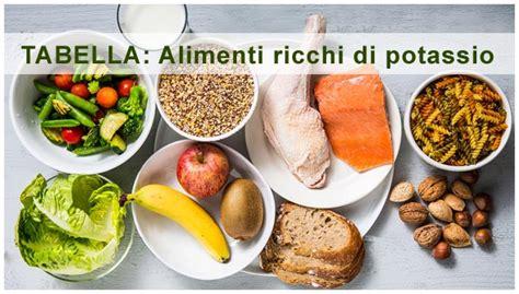 pressione arteriosa alta il potassio negli alimenti la