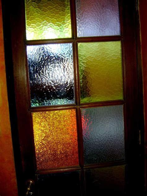 puerta  vidrios de colores en  puertas de vidrio puertas madera  vidrio  bloques de