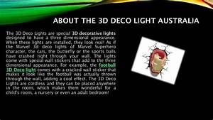 3D Deco Lights are Night Lights that Add Fun to Any Room