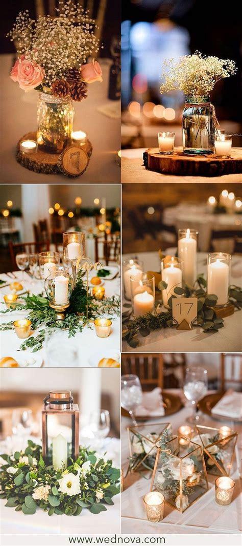 Elegant rustic wedding table decorations on a budget 44