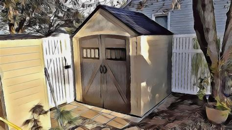 Roughneck 7x7 Shed by How To Lay A Foundation Base For A Backyard Storage Shed