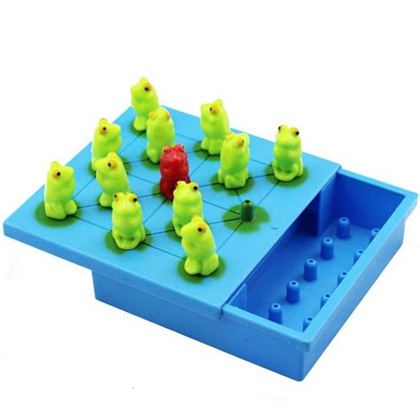 frog checkers children s educational toys building labyrinth chess puzzle logic