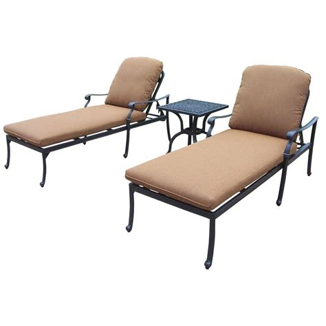 chaise b b confort hanover gramercy 2 patio chaise lounge set with