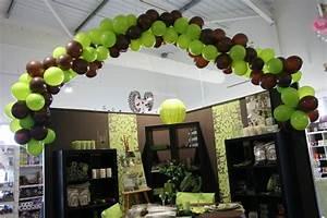 Centre De Table Chocolat : guirlande de ballons pour mariage ivoire et chocolat ~ Zukunftsfamilie.com Idées de Décoration